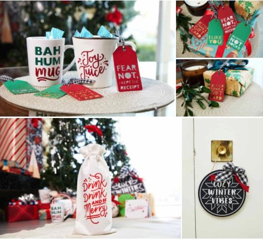 personaliza tus regalos navideños