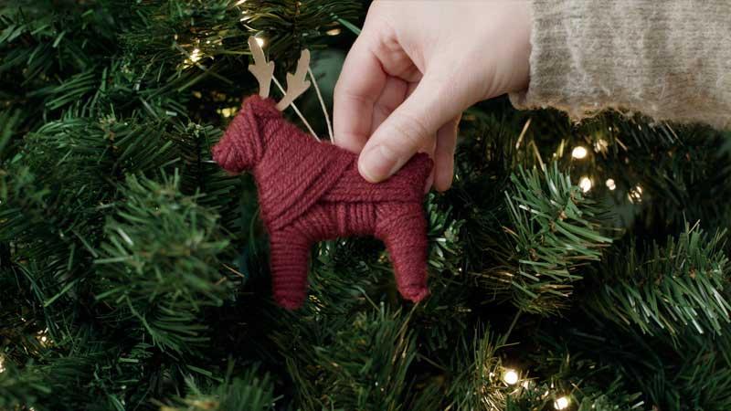 adorno navideño diy manualidad con cricut